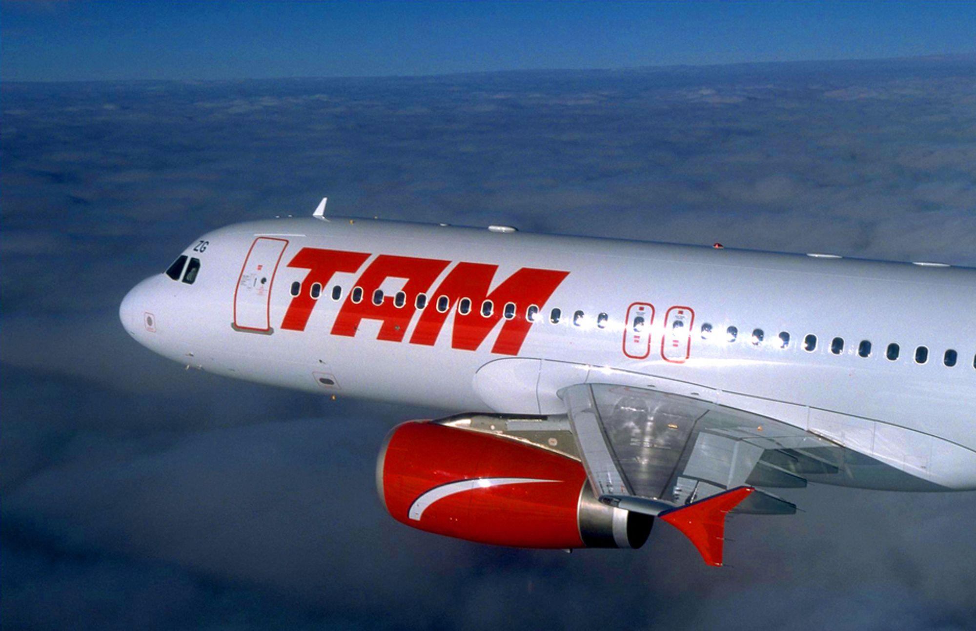 TAM har 61 Airbus A320 i operativ drift. Det var et slikt fly som krasjet og tok fyr på flyplassen i Sao Paulo, Brasil, klokken 23:50 (norsk tid) tirsdag 17.juli.