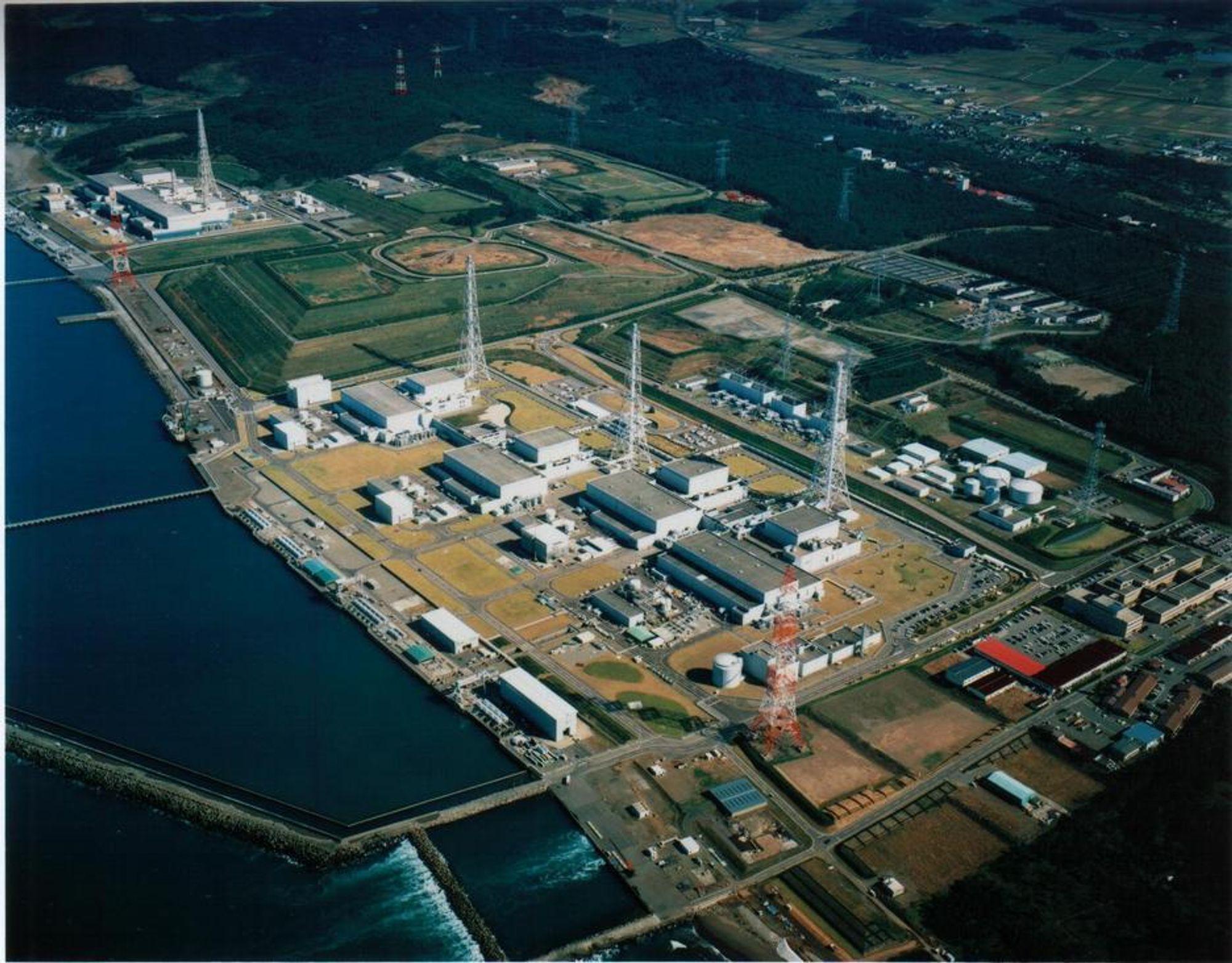 Kjernekraftverket Kashiwazaki-Kariwa ble rammet av jordskjelv mandag 16. juli.