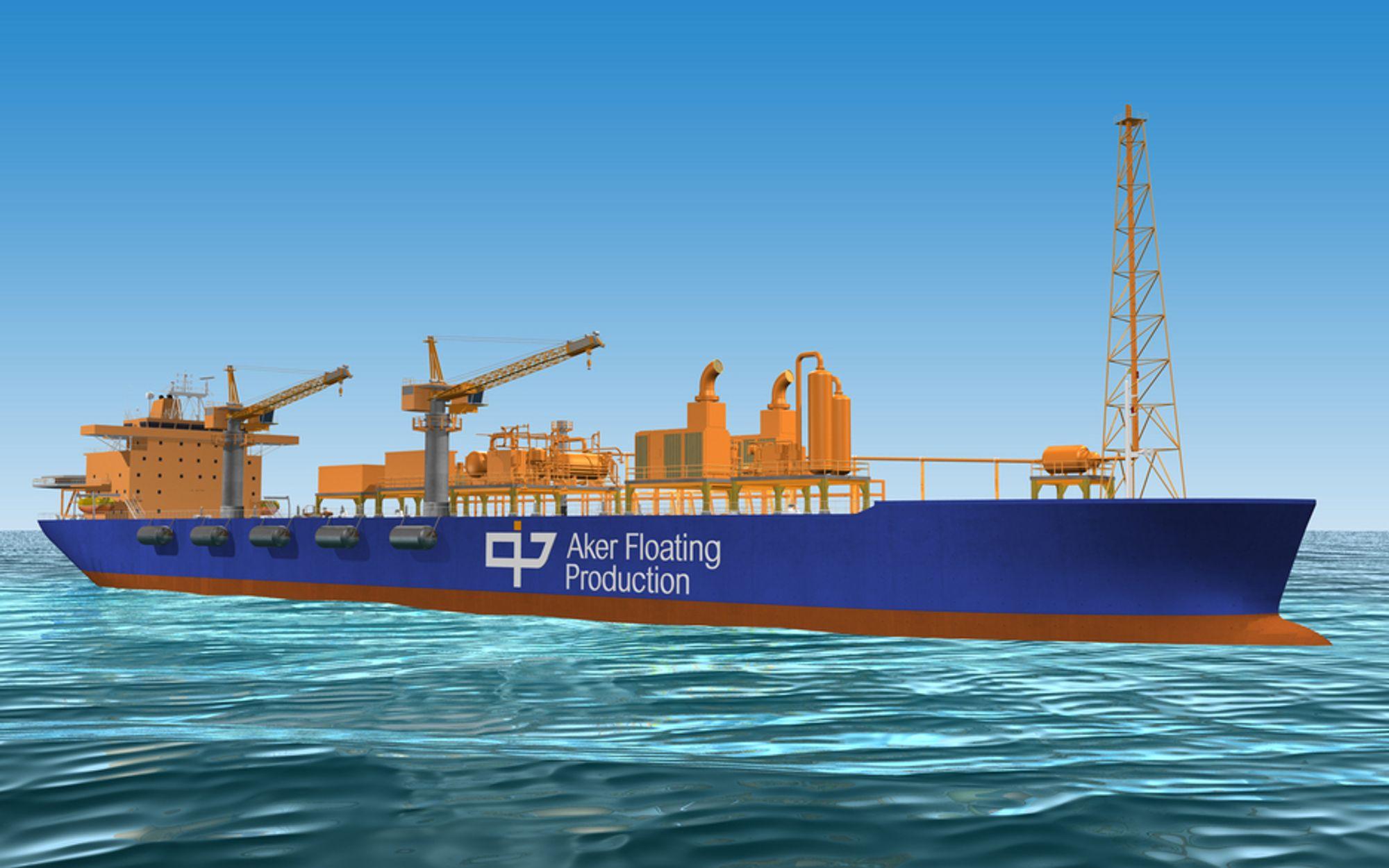 KNOPP: Aker Floating Production er spunnet ut av Aker Kværner-systemet. Nå er det både et selskap og et produkt. Slikt skal det bli mer av med Aker Innovation.