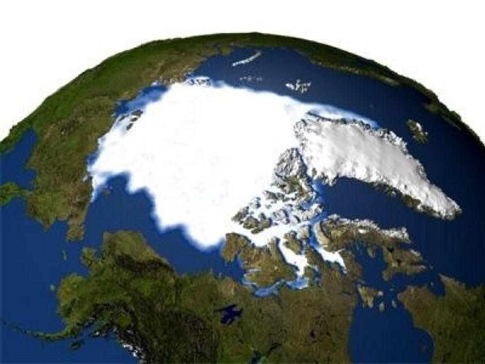 ISEN MINSKER: Isen i Arktis minsker drastisk hvert år. Det internasjonale polaråret kan gi oss svar på spørsmål rundt de globale klimaendringene.