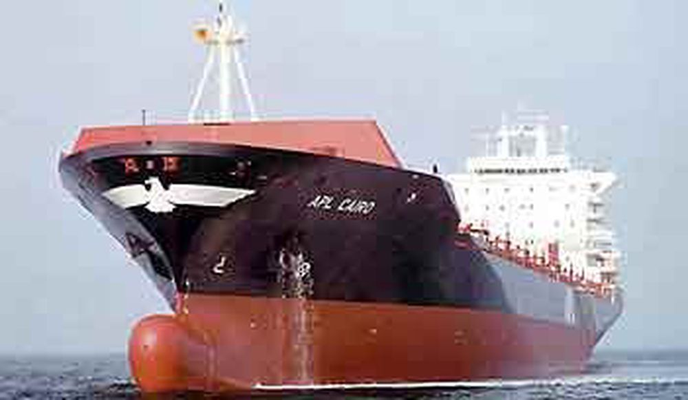 Aker Kværners tyske verft har spesialisert seg på containerskip i flere størrelser og varianter. Dette er en MTW 2500. Foto: Aker MTW