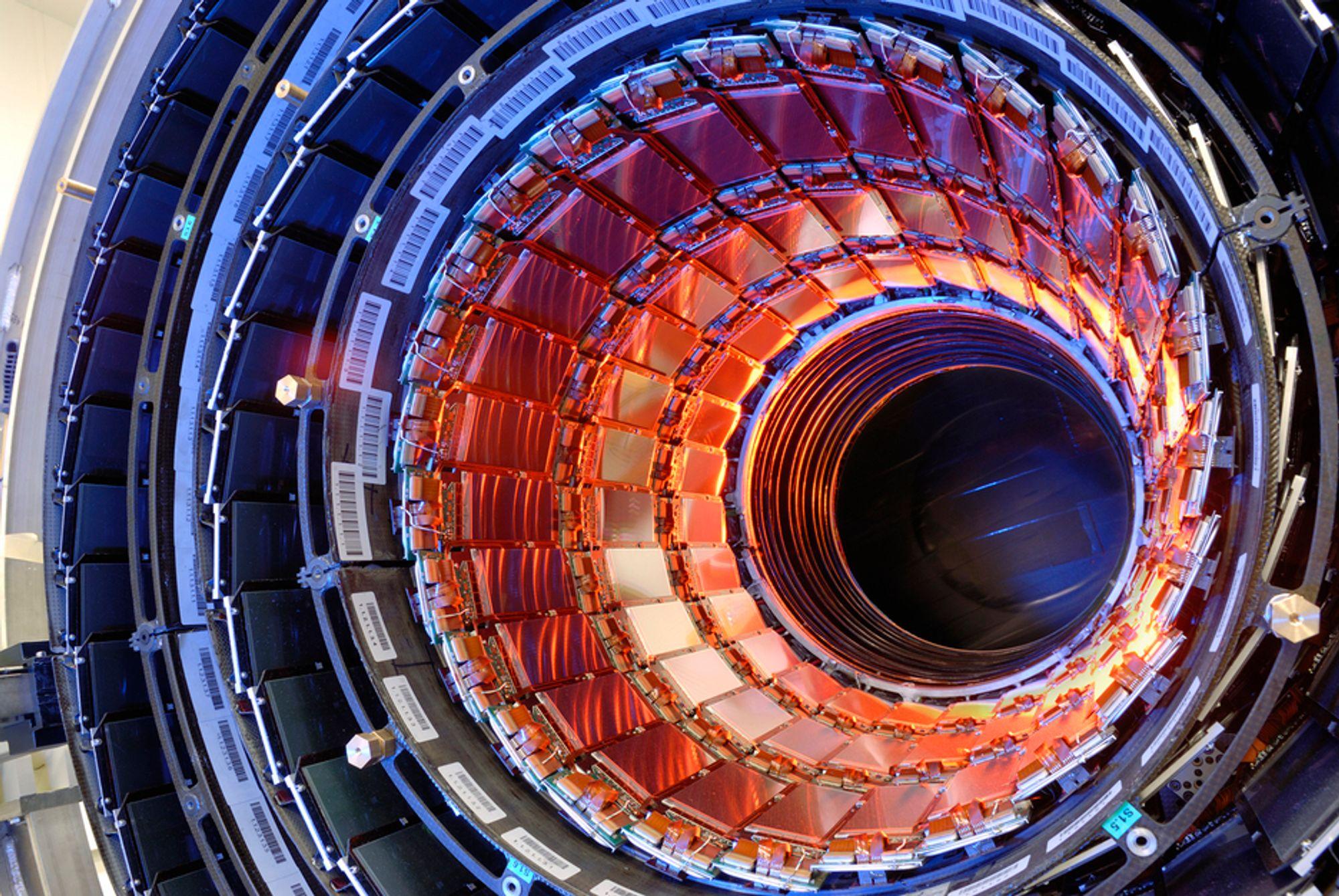 STORT POTENSIALE: Thorium kan være en del av fremtidens energiløsning, mest fordi det ikke gir drivhusgassutslipp. Det finnes gigantforekomster på Fensfeltet i Telemark, men ikke teknologi som gjør at man kan utvinne det i industriell skala. Bildet viser en thorium-protonakselerator. Foto: Cern