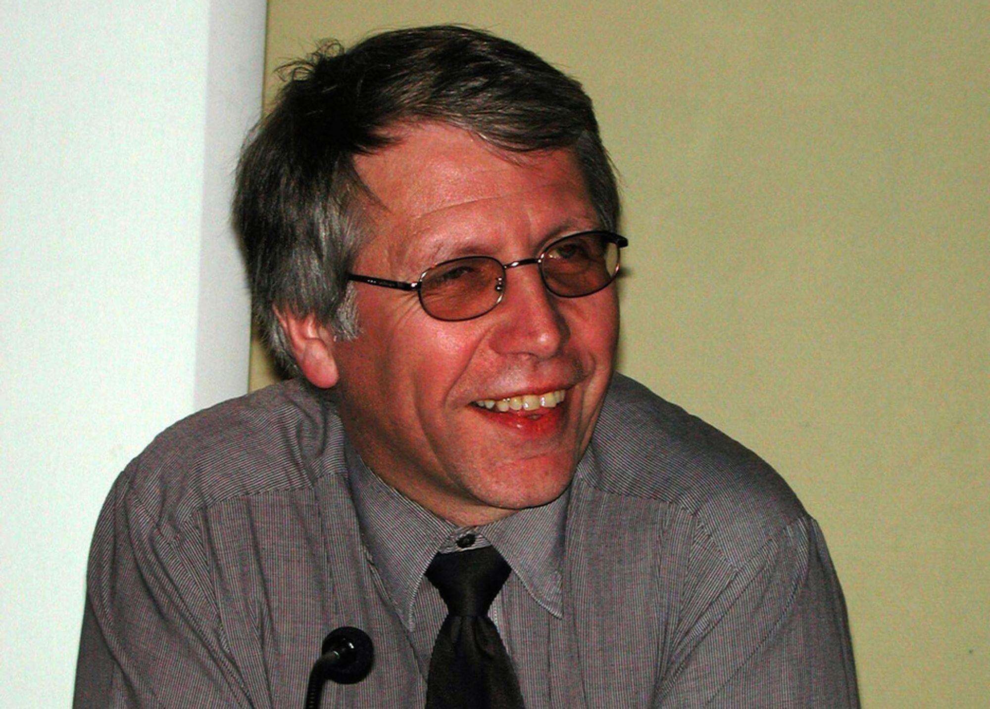 Tildligere samferdselsminister Terje Moe Gustavsen er nå vegdirektør.