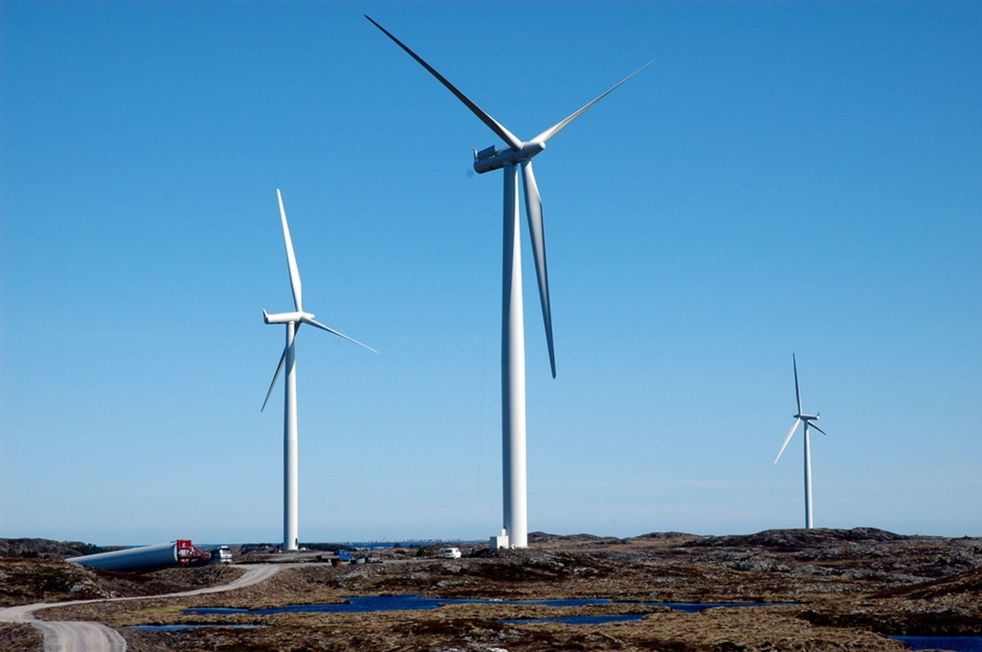TIL LISTA: Fred Olsen Renewables har valgt Siemens som leverandør av vindturbiner og elektrisk anlegg til Lisa Vindpark. I alt 31 2,3 MW vindturbiner skal leveres.