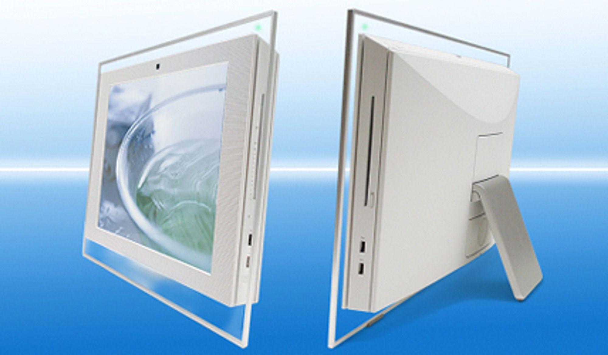 Sony Vaio LT. PC / TV med innebygget blu-ray-spiller.