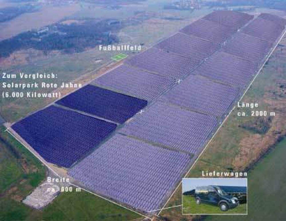 Juwi Group skal bygge verdens største solenergi-kraftverk nær Leipzig