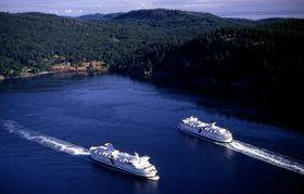 Cruiseskip kan bruke 30 tonn drivstoff i døgnet når de ligger til havn.
