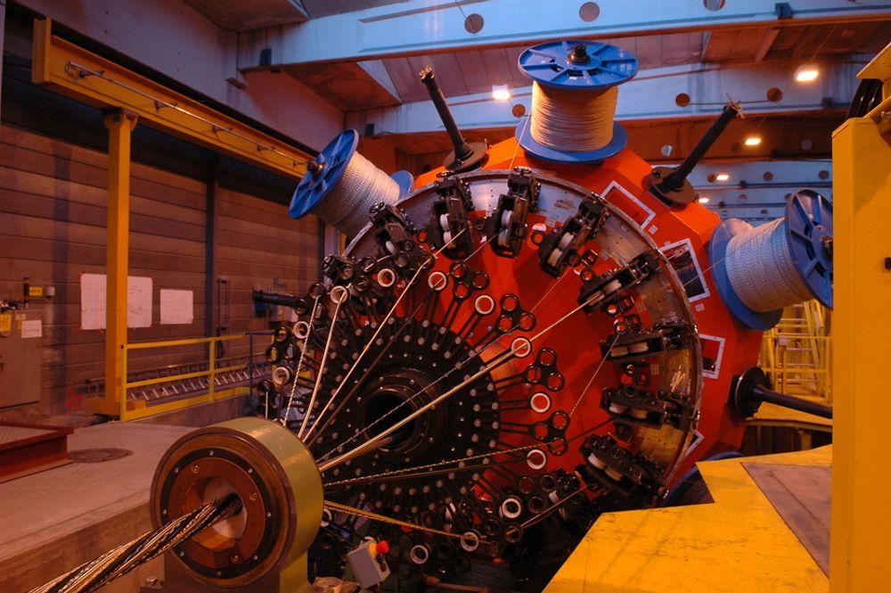 De amerikanske eierne vurderer å flytte flere maskiner fra Scanrope i Tønsberg til USA.