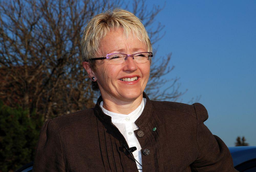 Samferdselsminister Liv Signe Navarsete.