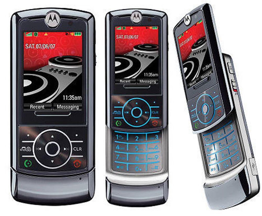 BLE EN FLOPP: Motorola RokrZ6.