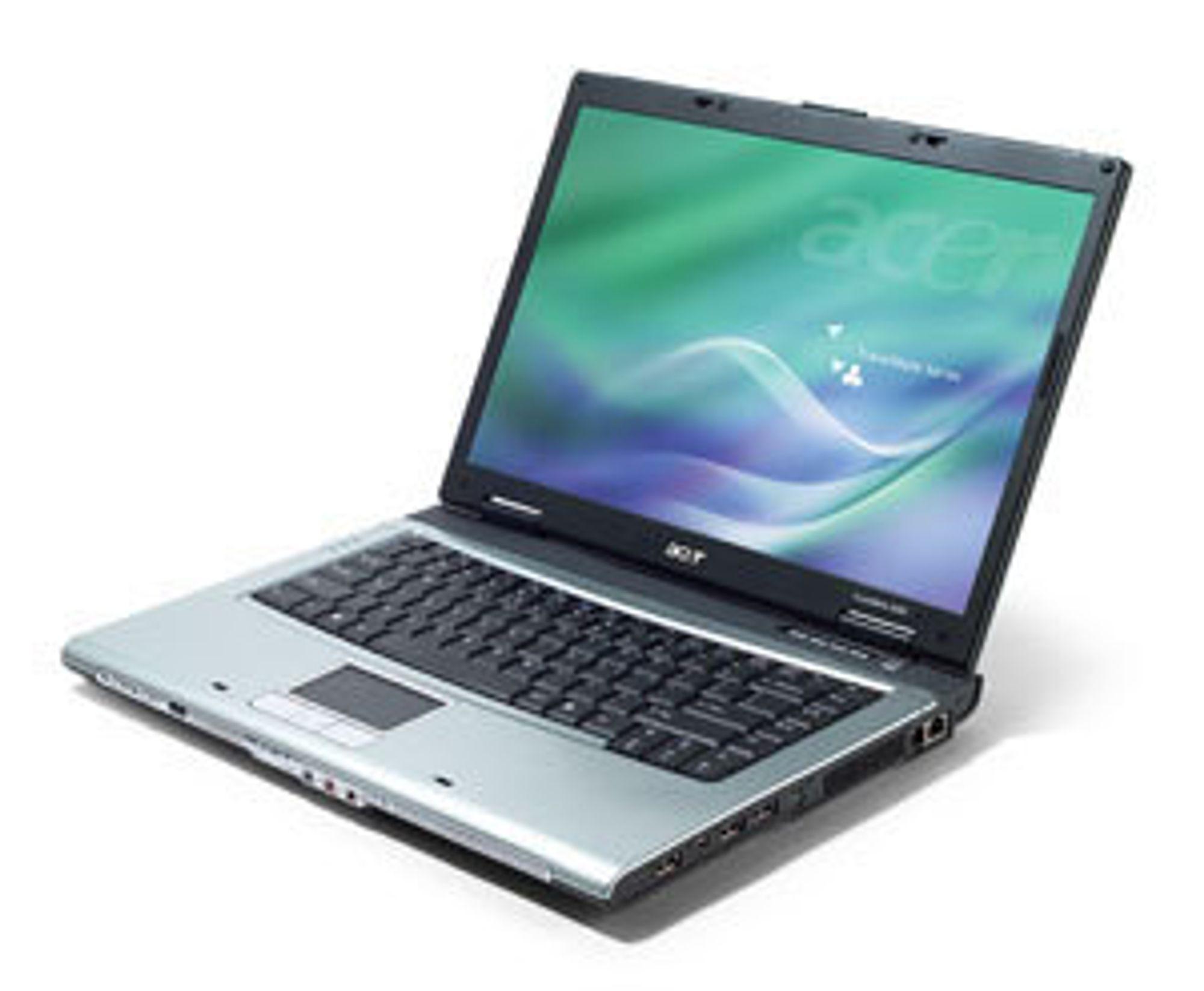 Bærbar PC. Laptop. Acer. Travelmate.