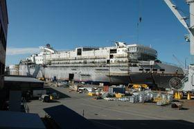 Superspeed 1 ble i 2007 satt inn på Kristiansand-Hirtshals-ruta. I 2014 ble den koblet på landstrøm.