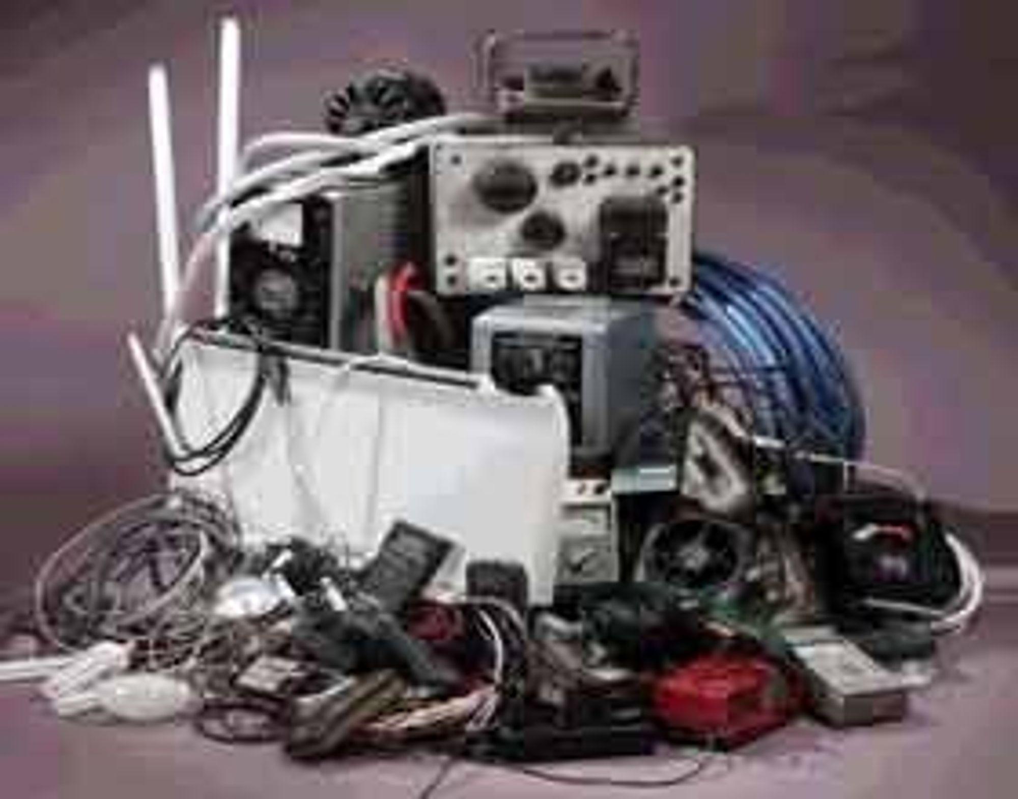 miljøgifter EE-produkteneEE-produktene elektriske og elektroniske EE-avfall elektronikk-avfall elektroavfall gjenvinning miljø Foto: Elgjenvinning