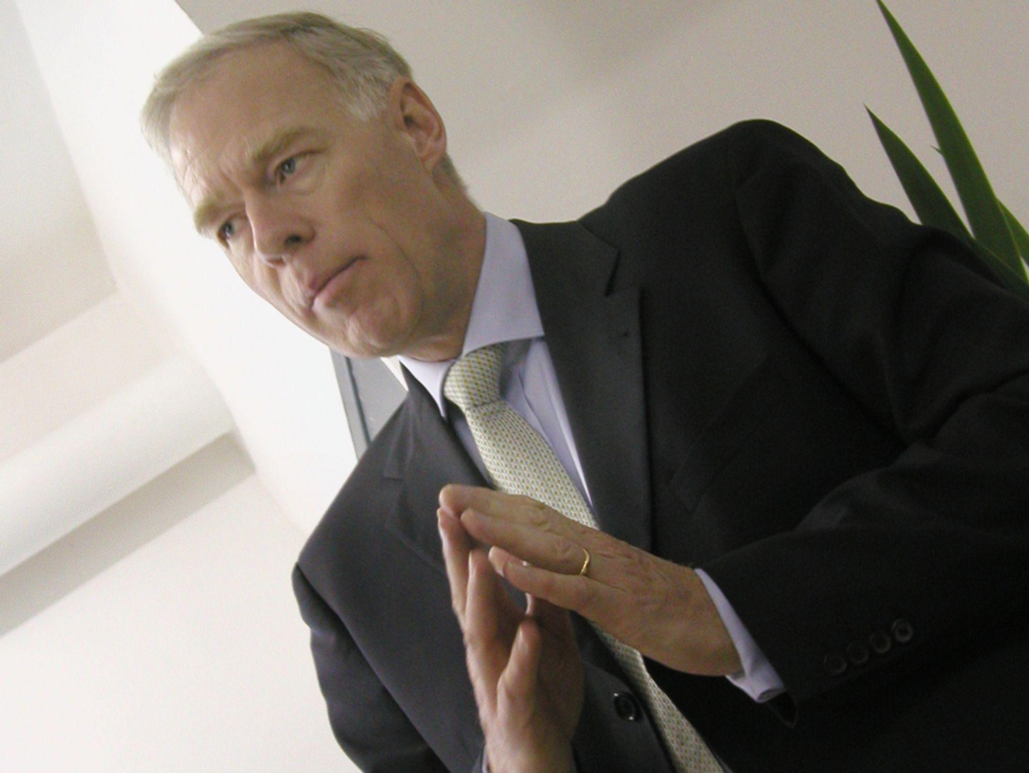VIL HA NY LEDELSE: Anders Igel kom inn som sjef i forbindelse med sammenslåingen av svenske Telia og finske Sonera i 2002. Nå har styret fått nok av ham.