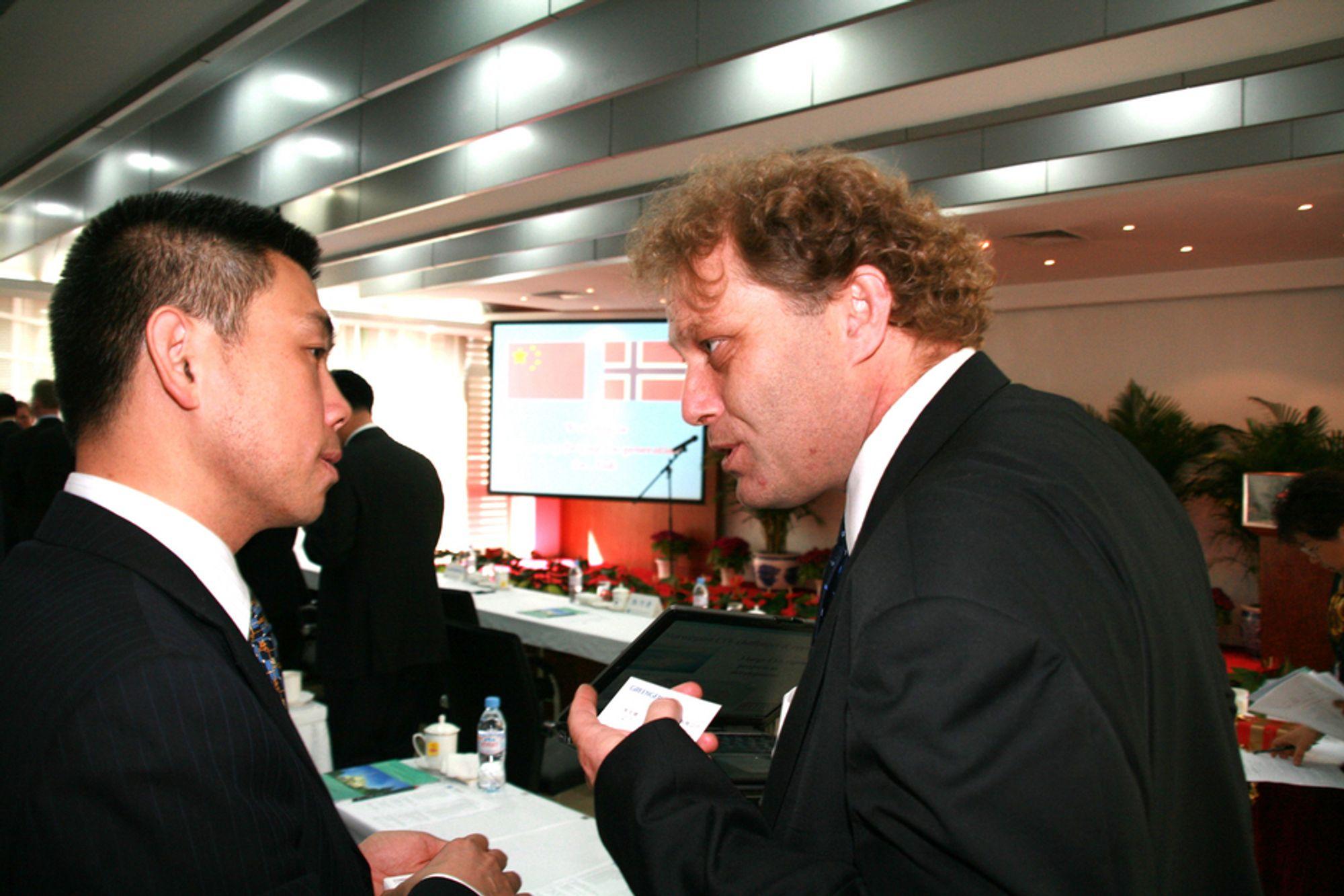 VIKTIG MANN: Wenbin Su er ifølge Bellonaleder Frederic Hauge verdens viktigste mann. Wenbin leder Greengen, organisasjonen som skal rense kullkraftverk i Kina.