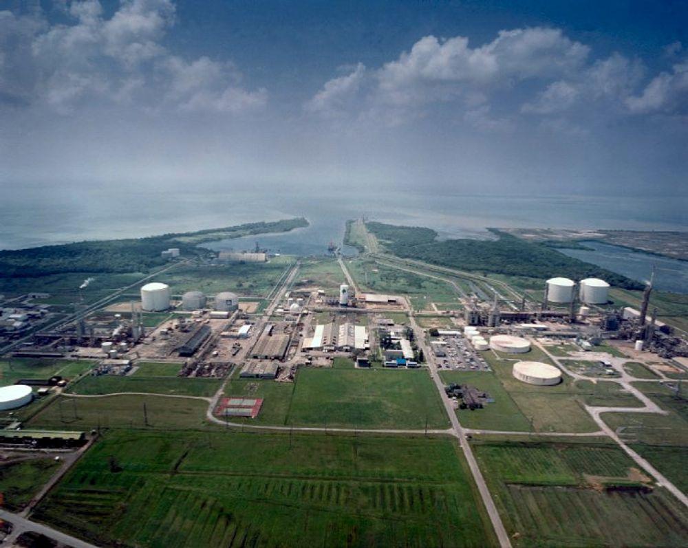 STORE PLANER: Fabrikkprosjektet Qafco-5 omfatter fabrikkutbygging for 3,2 milliarder US Dollar. Yara er inne med 25 prosent på eiersiden. Her er Yaras Hydro Agri Trinidad.
