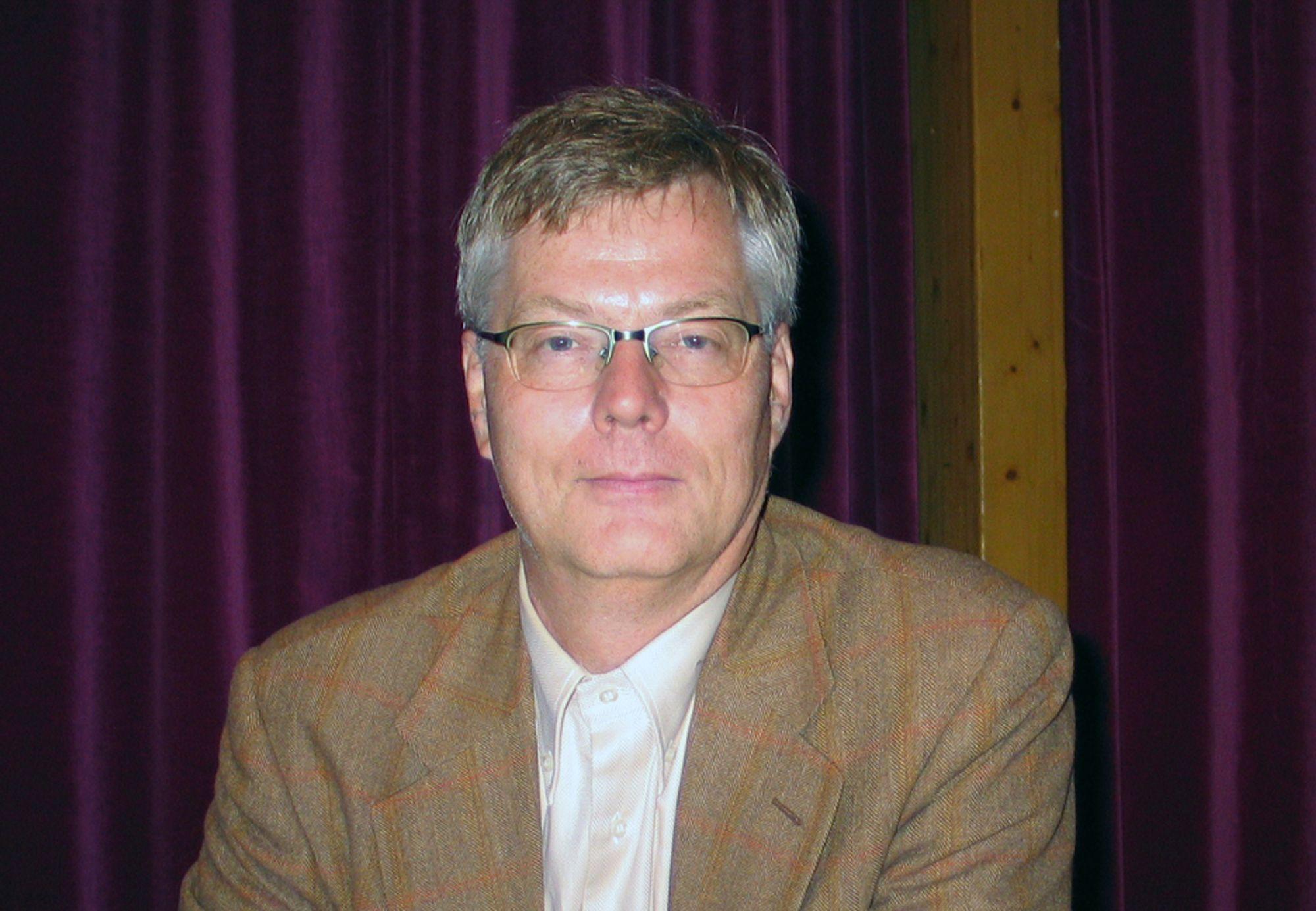 Jon Bingen, direktør ved Norsk institutt for strategiske studier (NORISS).