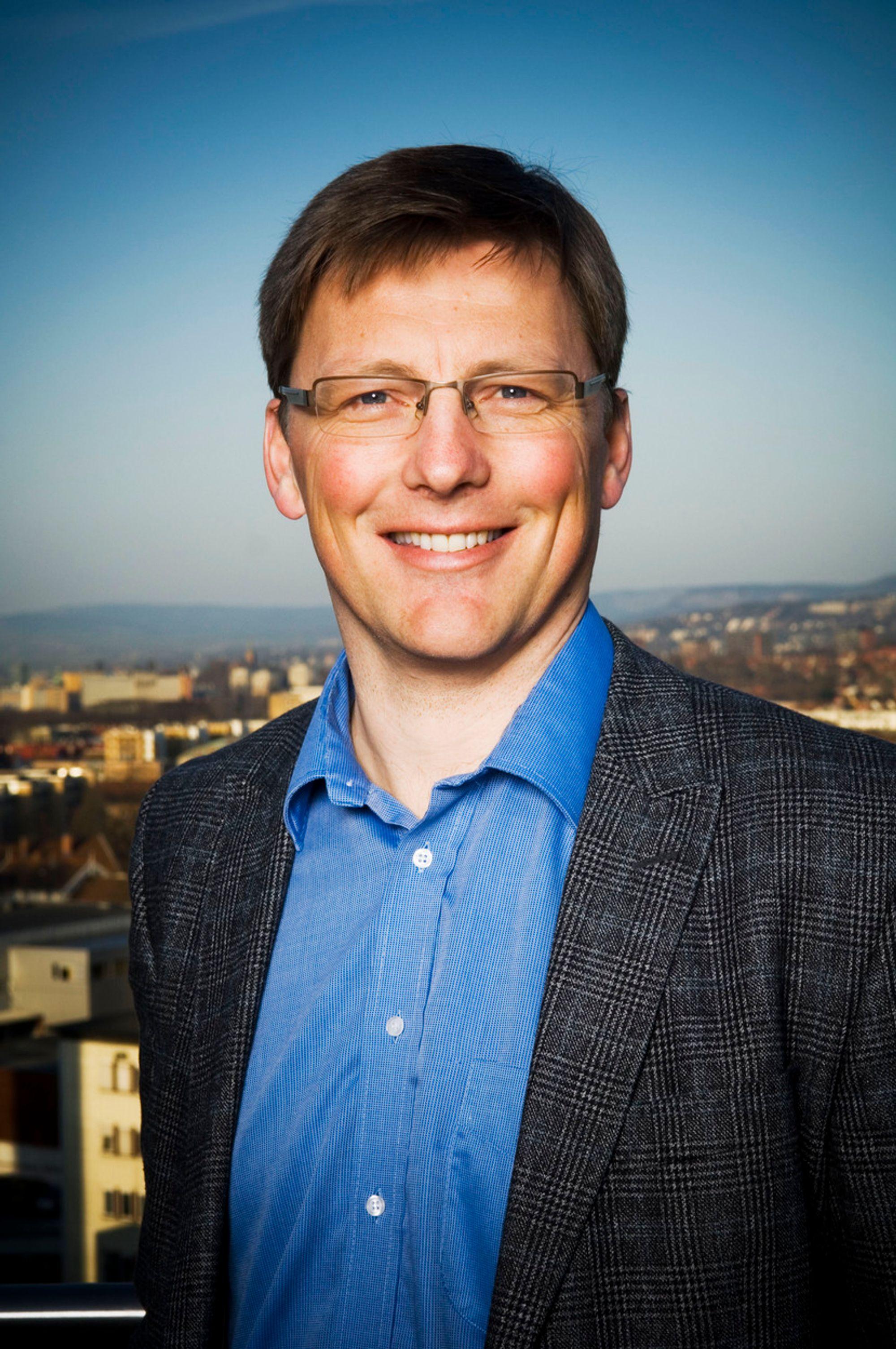 Pål Egil Rønn, konsernsjef i AF Gruppen f.o.m. 14.05.07