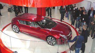 Citroën-visjon i glass og stål