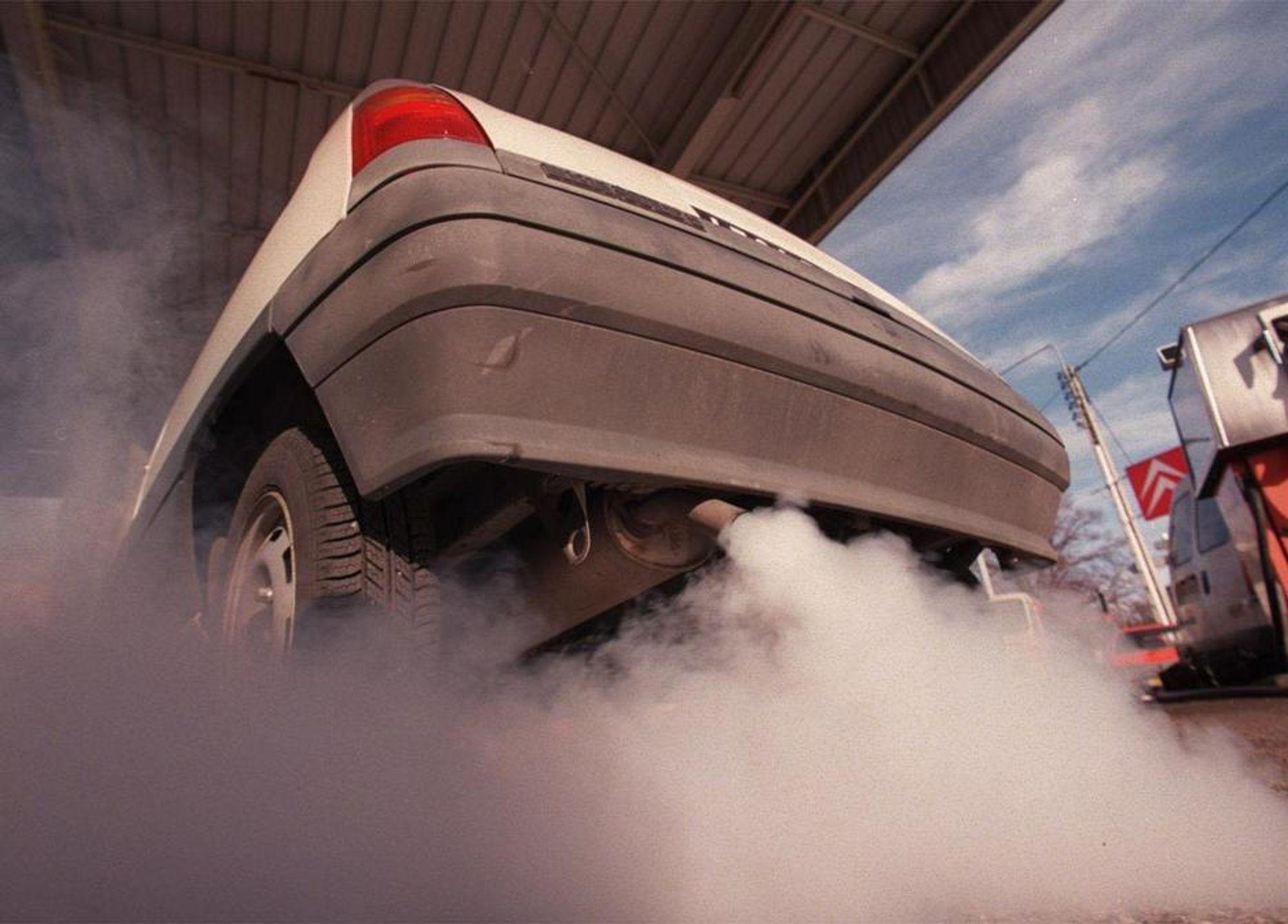 HASTER: Norge må redusere NOx-utslippet med rundt 40 000 tonn innen 2010, noe som tilsvarer NOx-utslippene fra hele den norske veitrafikken.