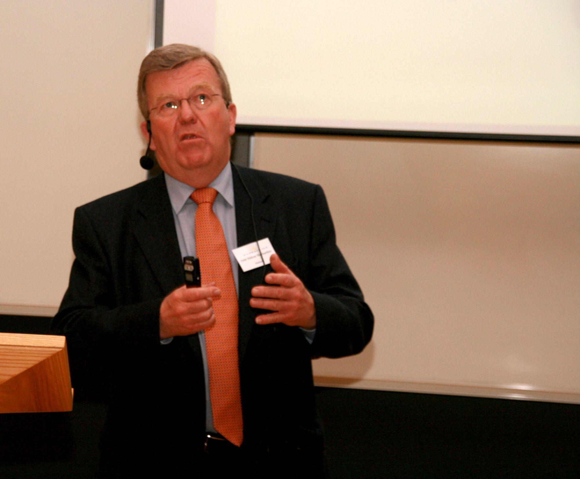 Statnett-sjef Odd Håkon Hoelsæter skal ønske å selge seg ut av Nord Pool.