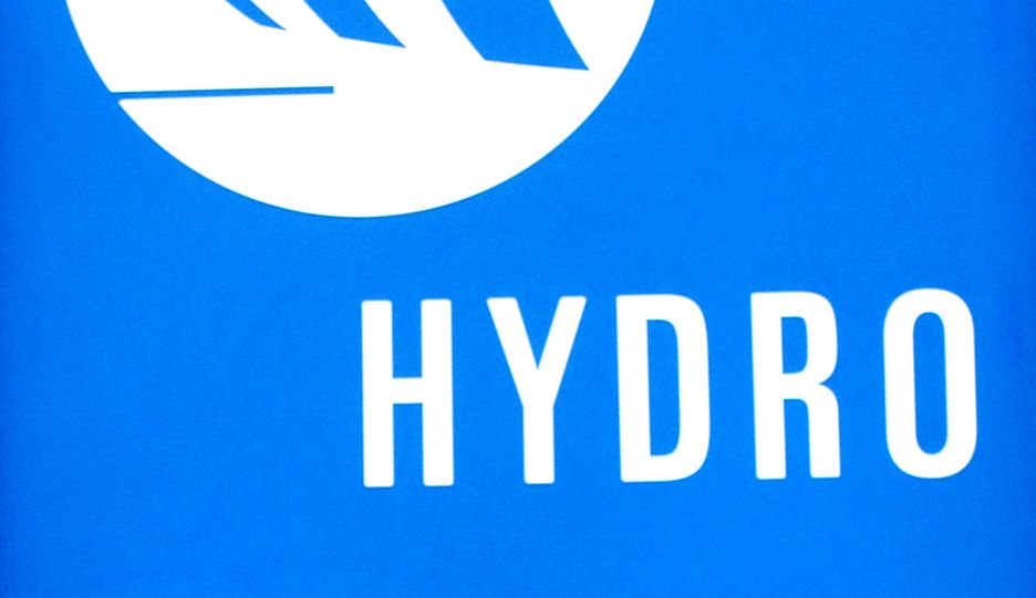 Norsk Hydro. Logo. Industri.
