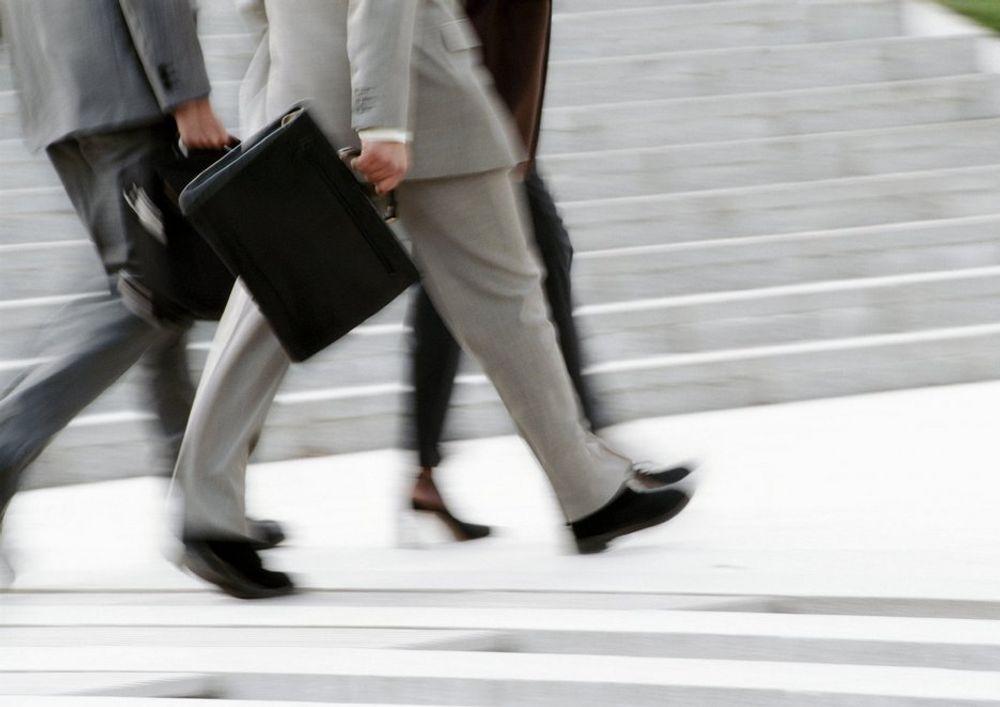 Jobb. Karriere. Business. Forretningsmann. Dress. Stresskoffert. Jobb. Arbeidsliv.