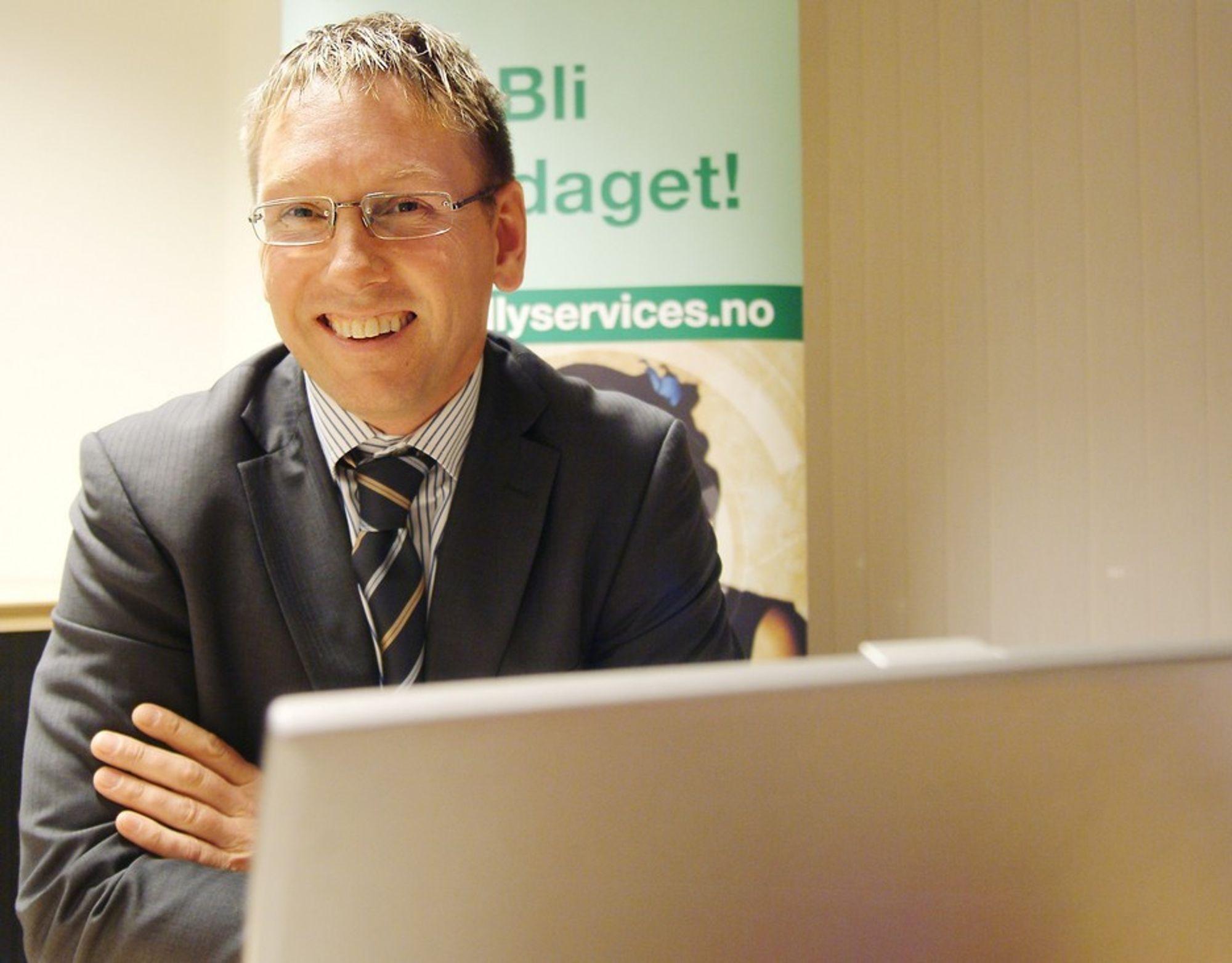 Administrerende direktør for Kelly Services i Norge og Skandinavia, Stig Lauvsland.