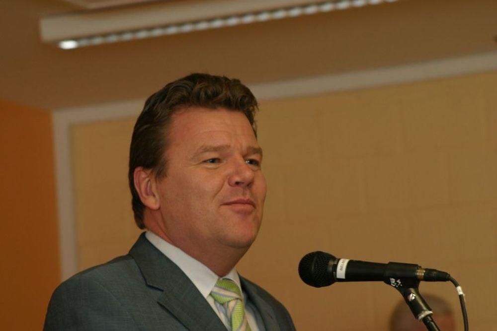 Utdanningsminister Øystein Djupedal.