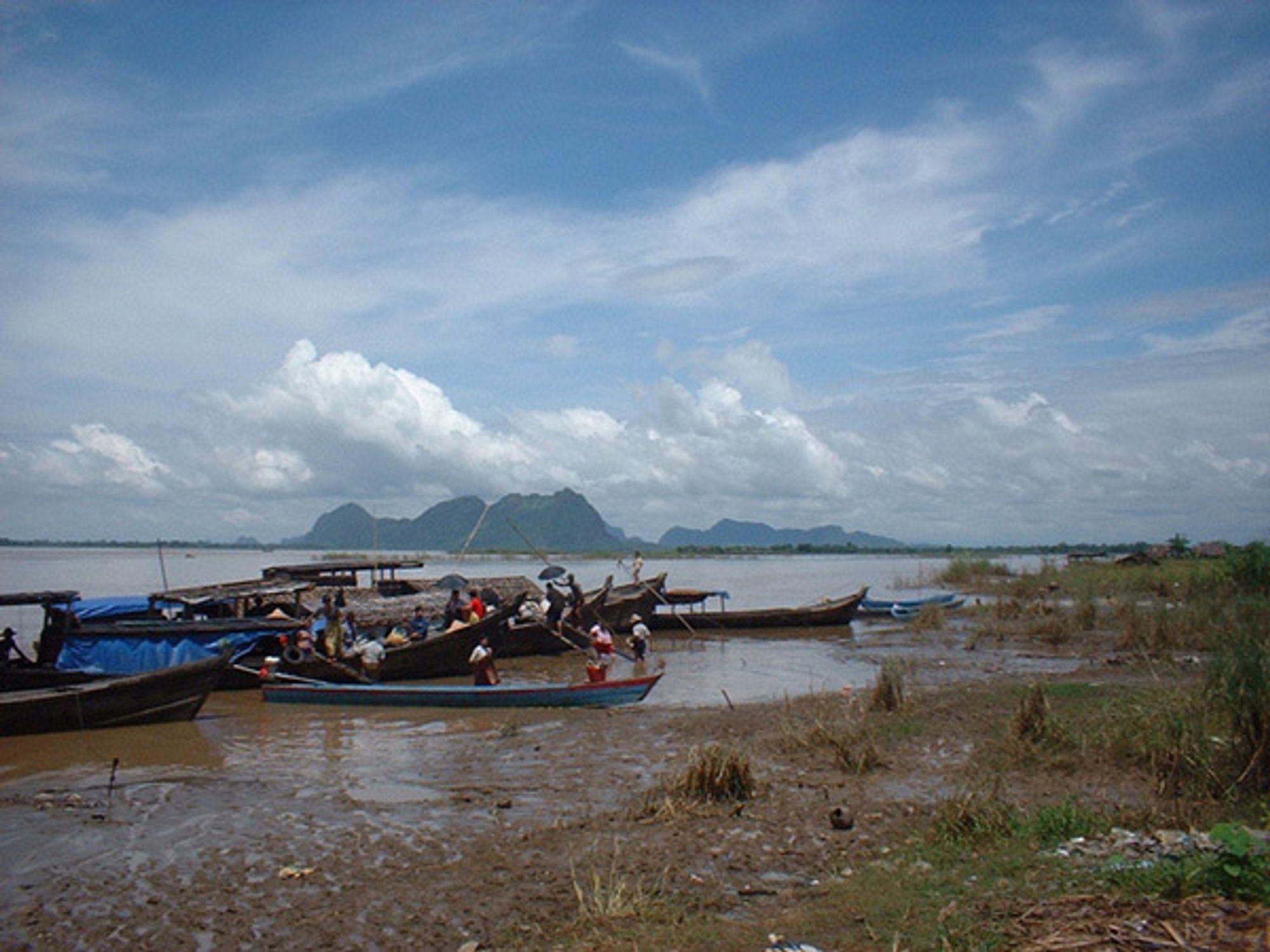 Omstridt: Salween-deltaet.