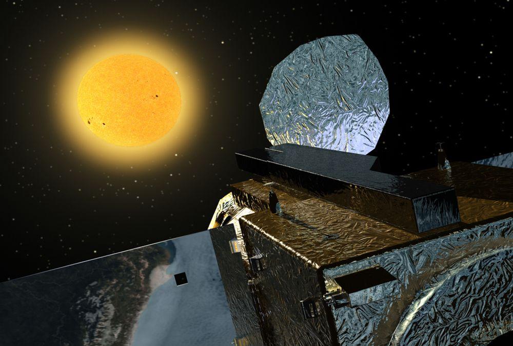 """""""NORGESVENN"""": Hinode skal observere sola i minst tre år. Forskningsdataene sendes via Svalbard og Oslo."""