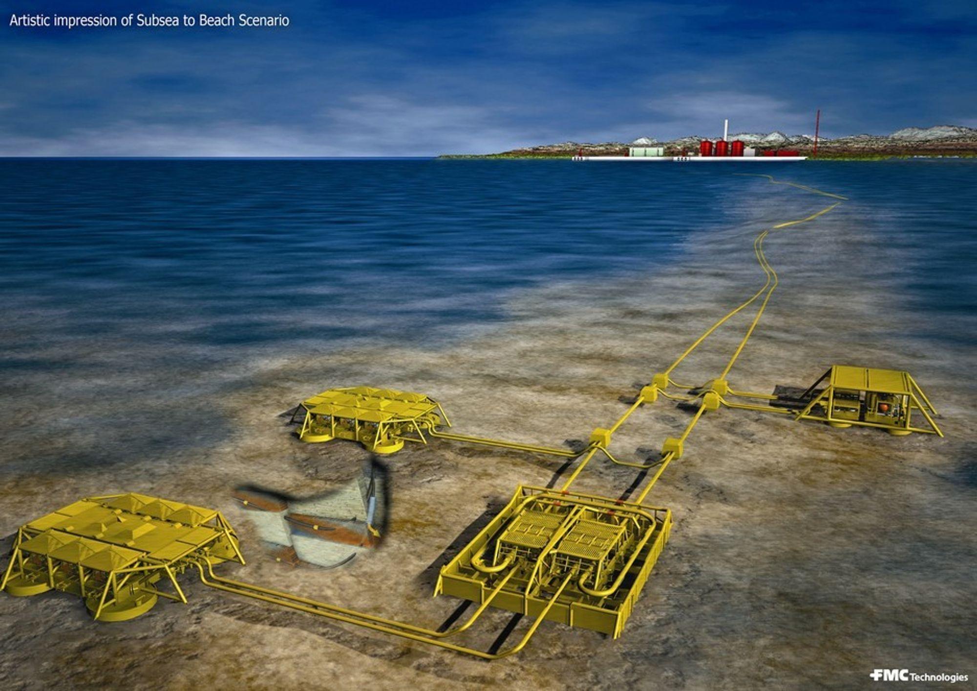 Hydraulikk er en nøkkelteknologi i fjernopererte olje- og gassfelt i Nordsjøen.