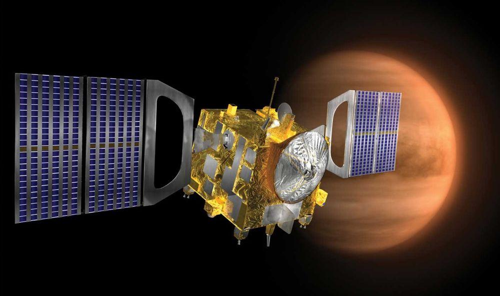 Venus Express er ankommet