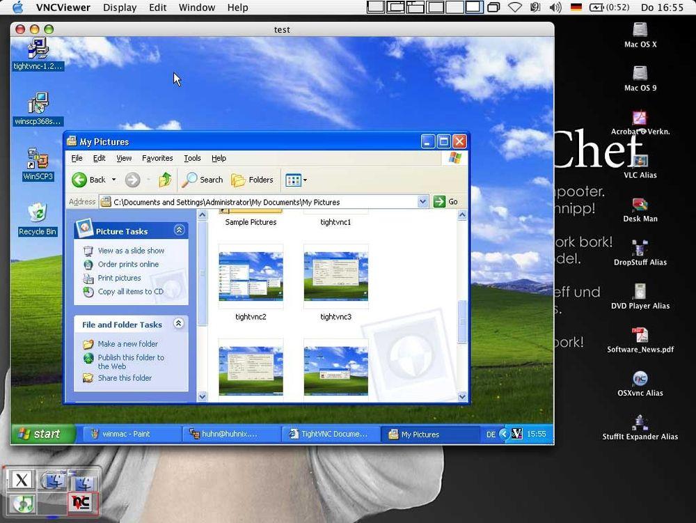 Windows invaderer Mac