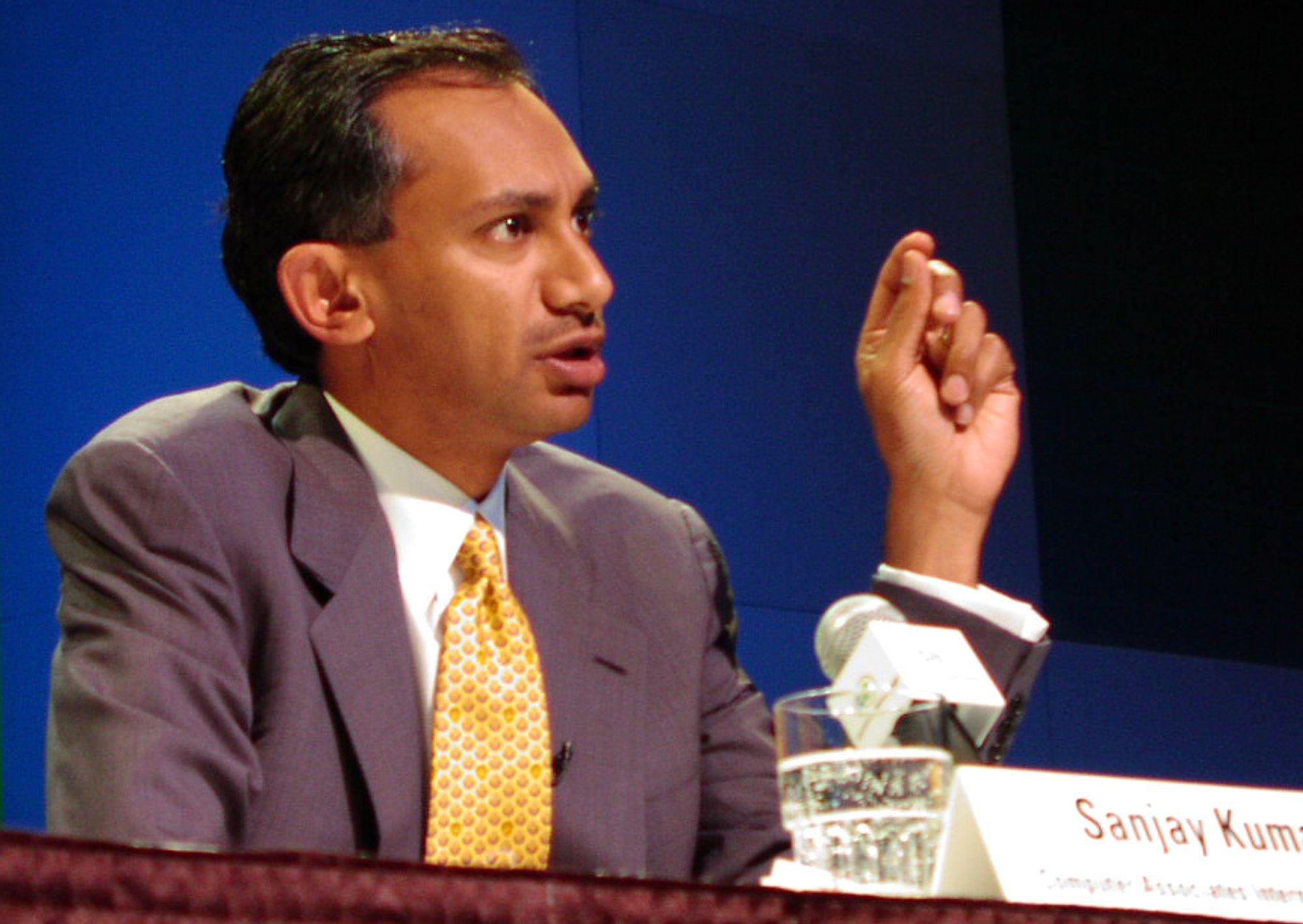 """KRIMINELL: Sanjay Kumar får nå kost og losji på statens regning i et av amerikas fengsler som """"takk"""" for innsatsen med pengetriksing i CA."""
