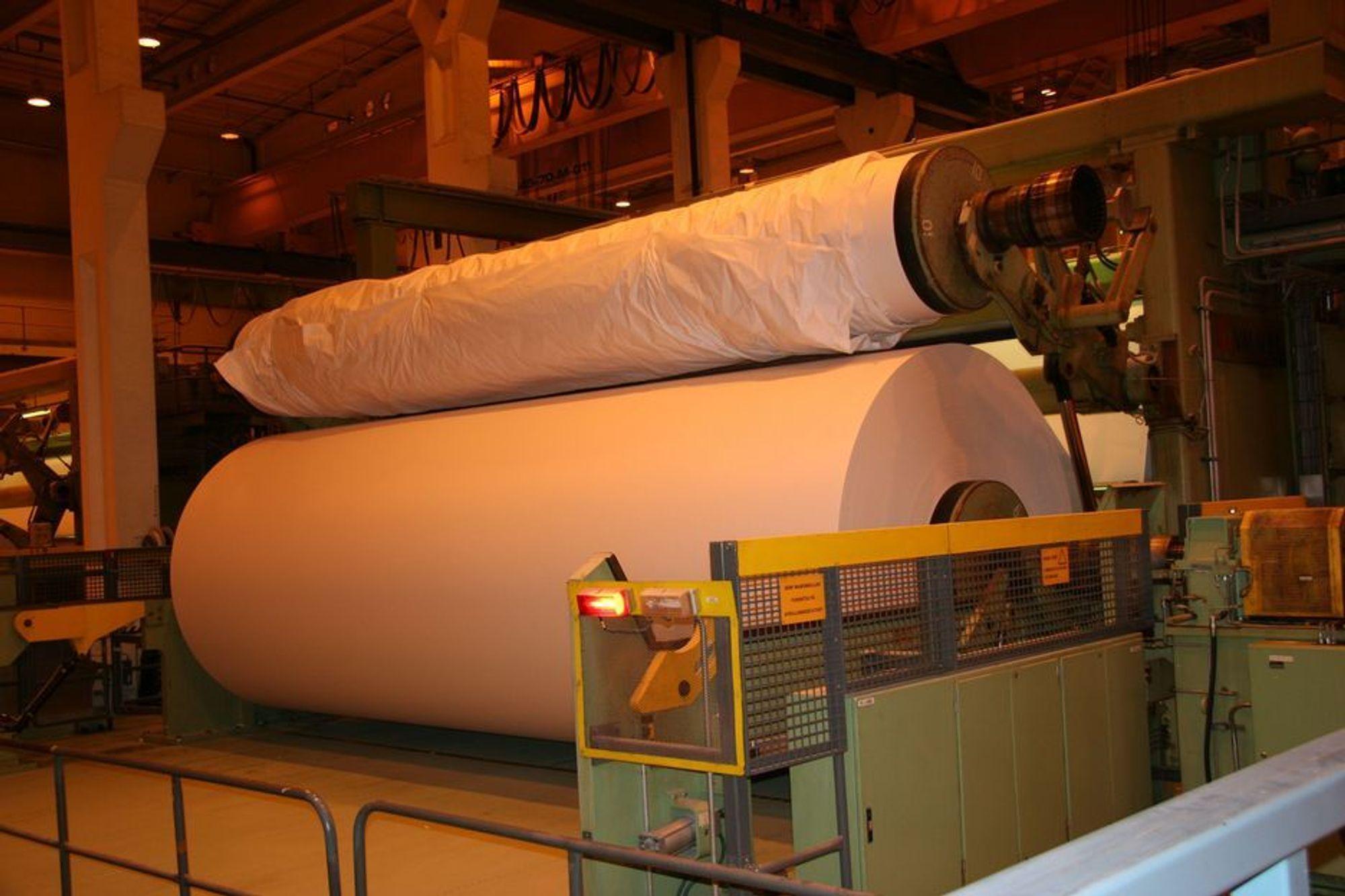 NEDLEGGES: Norske Skogs papirfabrikker går ikke godt økonomisk. Det får nå konsekvenser.