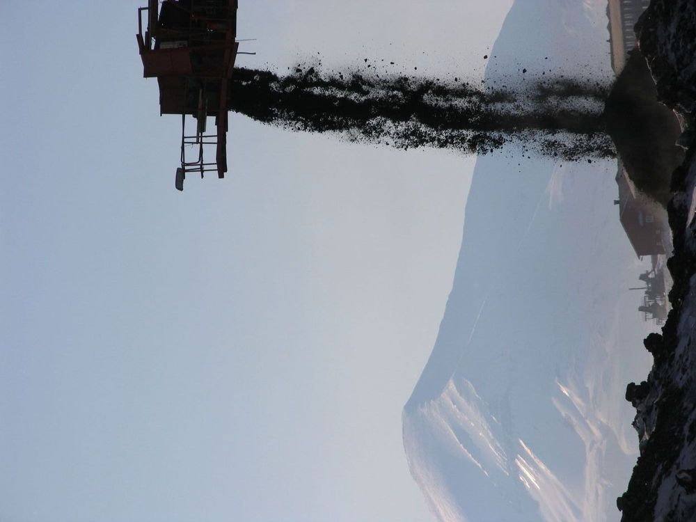 KAN BLI ALENE: Norge kan bli eneste kullprodusent på Svalbard, ifølge signaler fra Russlands ambassadør.