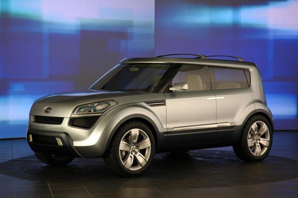 RØRER PÅ SEG: Tiden er over da koreanske biler så ut som dårlige kopier av dårlig japansk design. Kia Soul er formgitt i USA og sies å ha trekk av kommende koreanere.