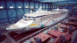 Cruiseskip må testes mot monsterbølger