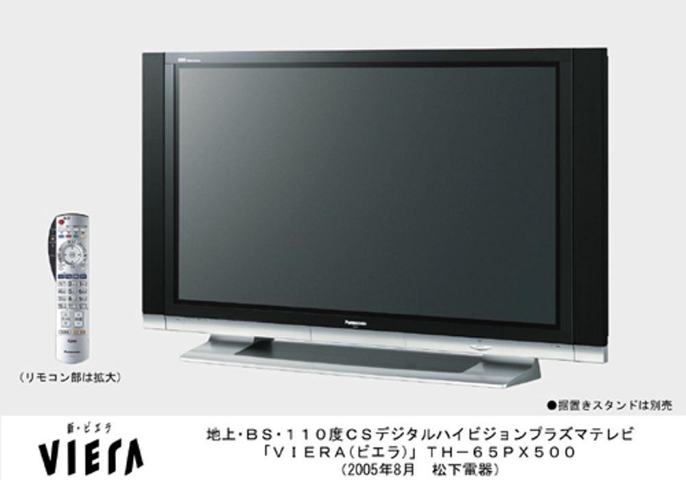 En flat-TV var blant gavene.