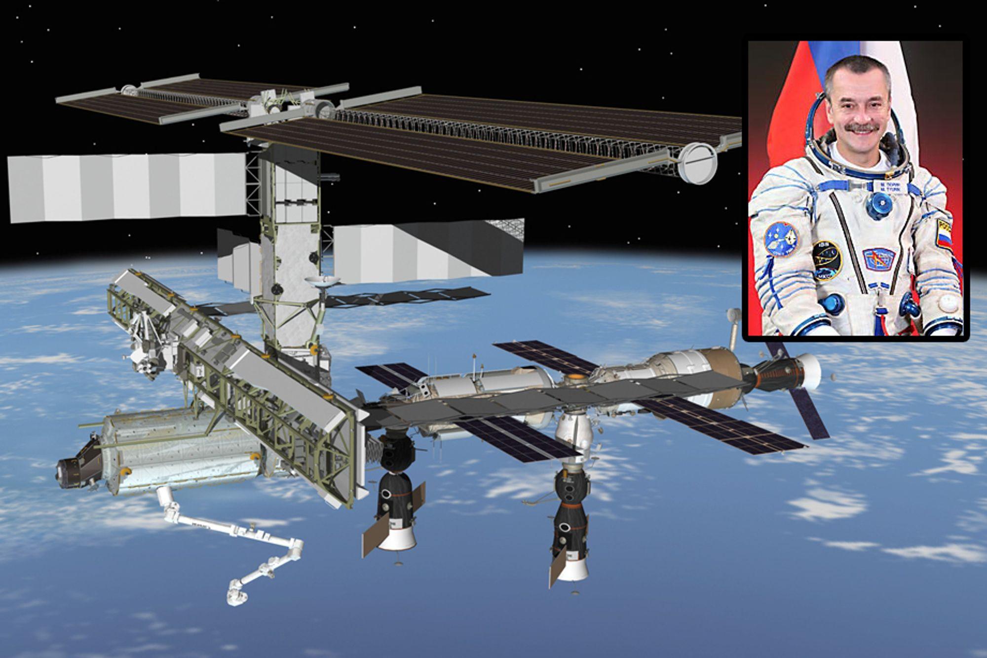 Golfprodusenten Element 21 betalte den russiske romfartsorganisasjonen godt for Mikhail Tyurins (innfeldt) PR-slag fra ISS.