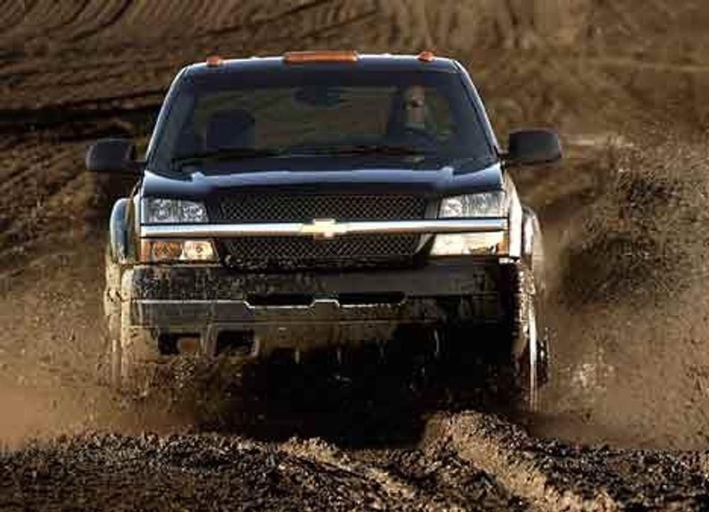 TØFT: Chevrolet Silverado 3500 Big Dooley.