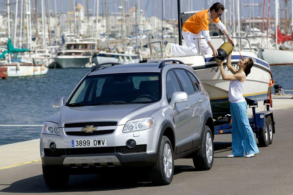 Til Norge: Her i landet leveres Chevrolets Captiva med firehjulstrekk og dieselmotor.
