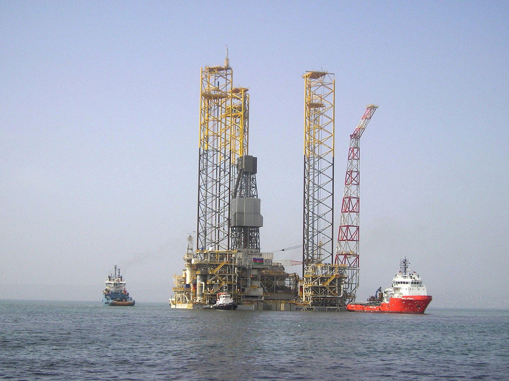 MER OLJE: Oljeselskap verden over viser nå stor interesse for en britisk oppfinnelse der leteboring og feltutbygging kan bli rimeligerte og gi raskere resultat. Teknikken vil kunne gjøre det interessant å bygge ut mer marginale oljefelt.
