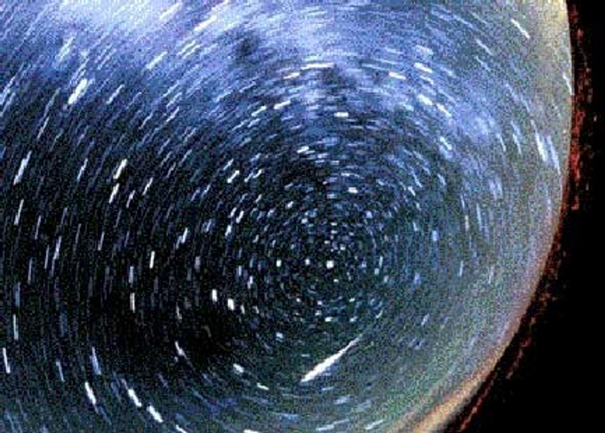 En slik meteordusj må du dessverre opp i verdensrommet for å beskue. Men det kan være interessant fra jorda også. Husk kamera med lang lukkertid.