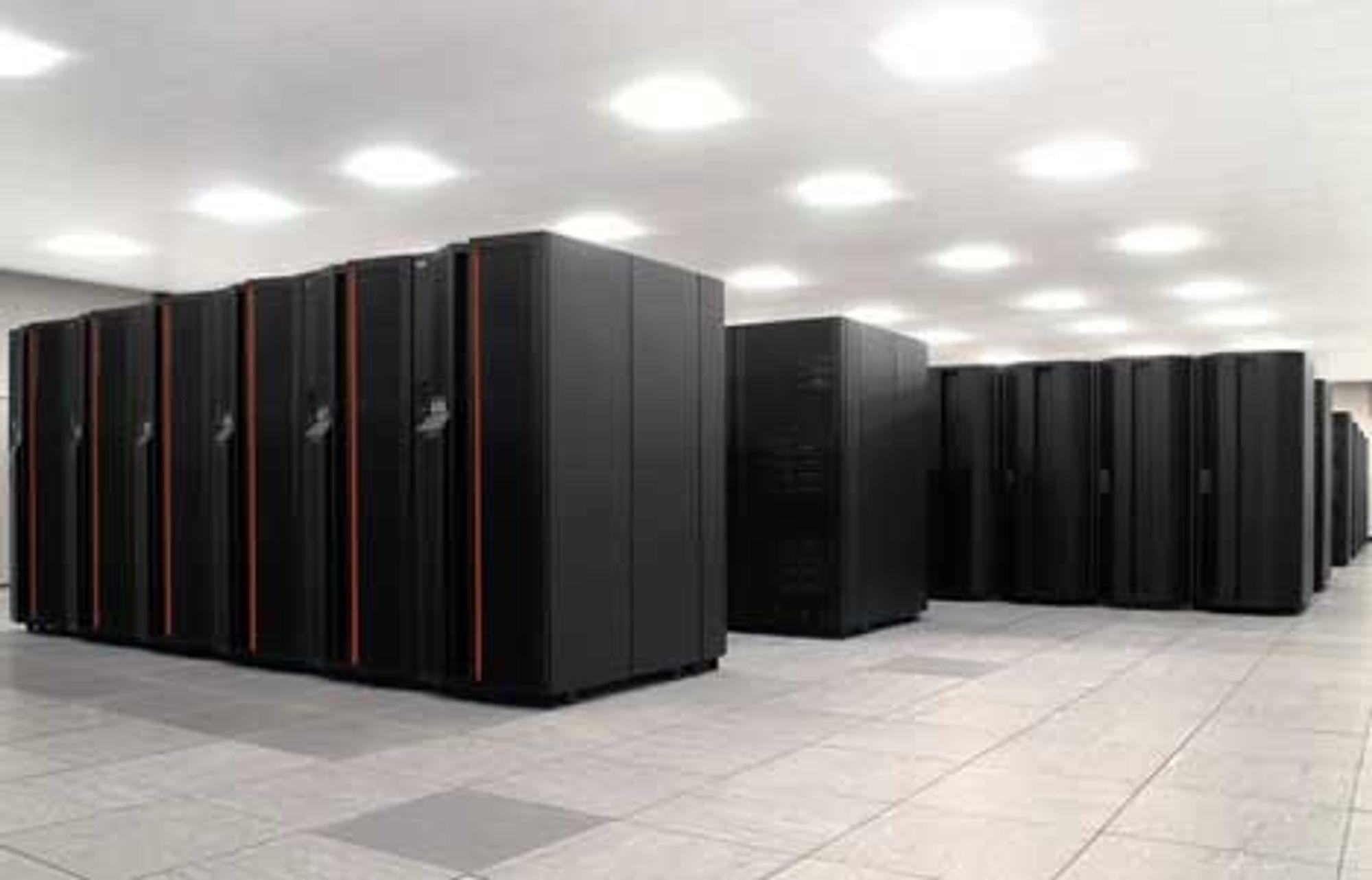 De nye supermaskinene fra IBM: Noe vakrere kan knapt et ingeniørøye skue...