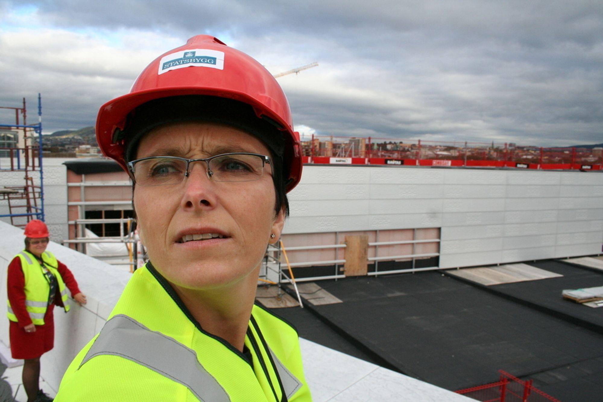 Fornyingsminister Hedi Grande Røys besøker operaen