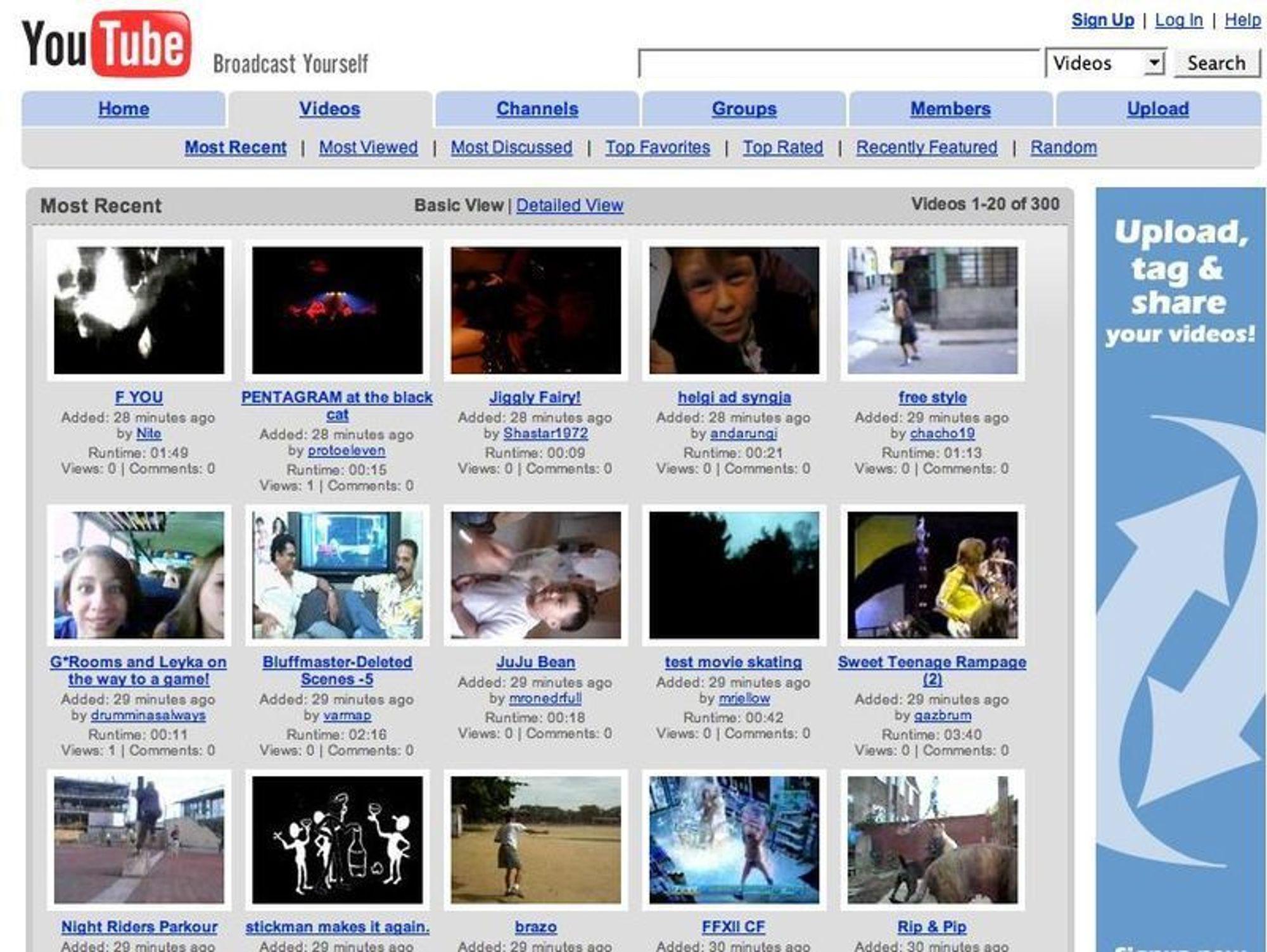 Google kjøper YouTube