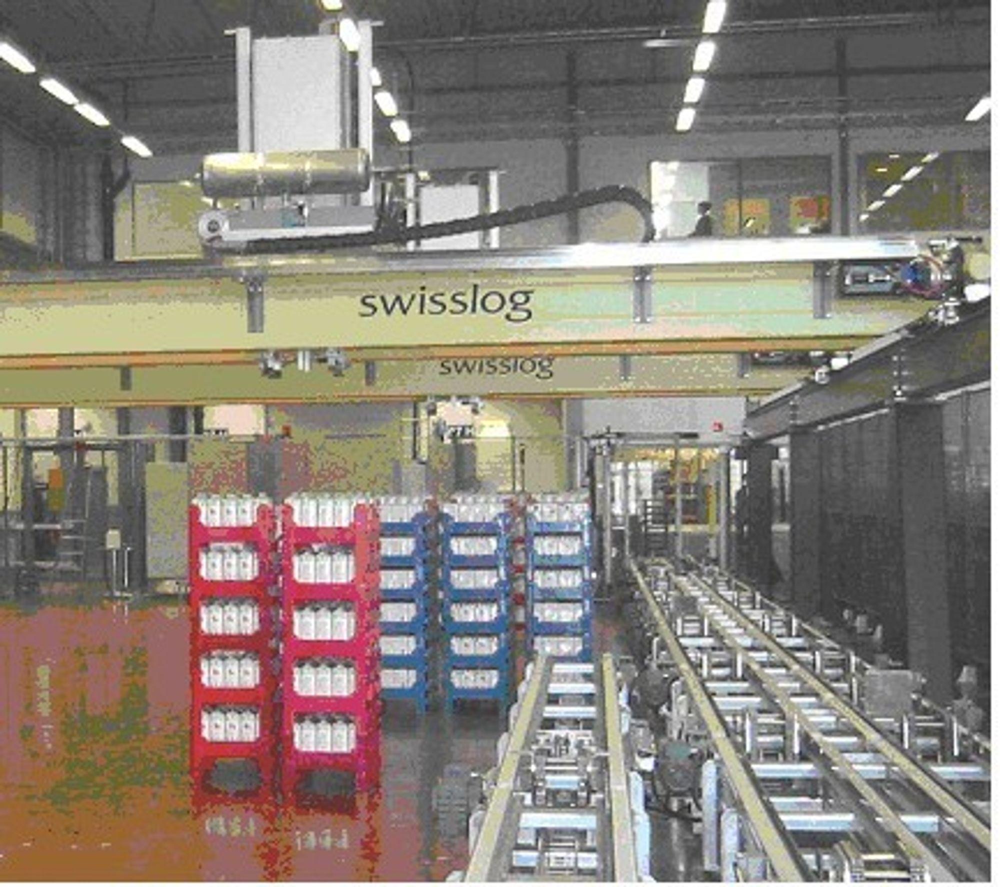 Swisslog bygger ut hos Arla