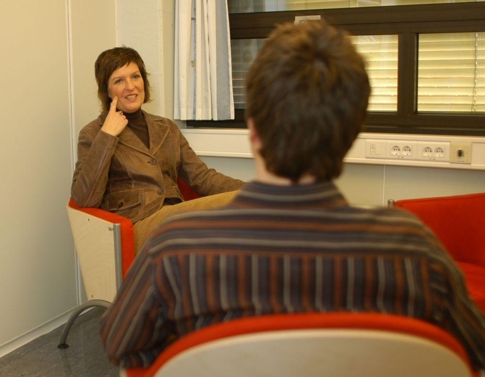 Coach: Marianne Bevum, rådgiver i NITO Kompetanse, skal hjelpe ingeniører til å finne den rette karriereveien.